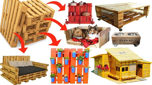 200 DIY Ideas recycle reuse pallet, recycle wooden pallets recycling furniture desk garden projects