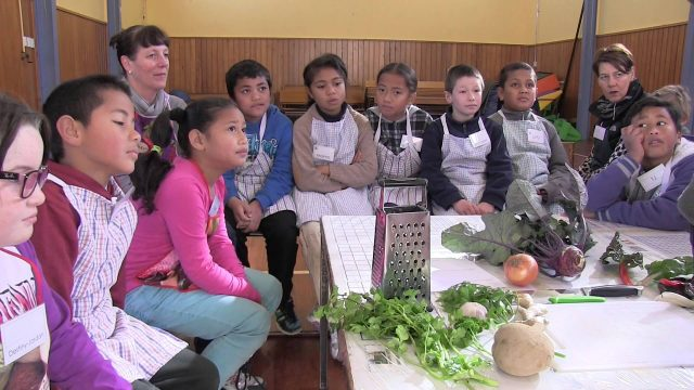 Cannons Creek School Garden to Table