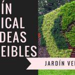 """""""JARDÍN VERTICAL"""" """"CUADRO VEGETAL""""-Cómo crear un jardín vertical  videos de jardines verticales"""