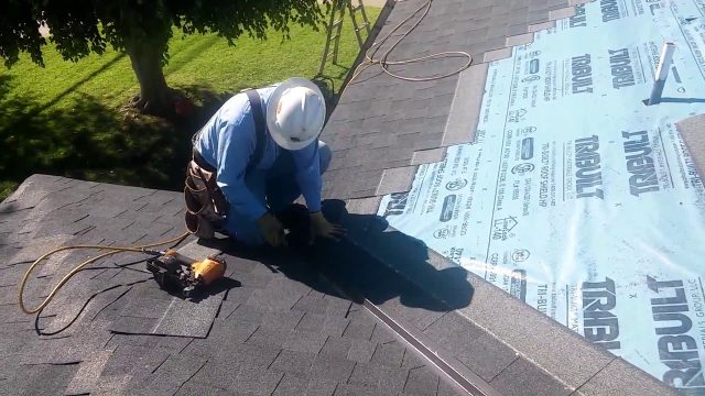 HOW TO VIDEO: Roofing Basics …Installing a valley on a shingle roof…the easiest and fastest way