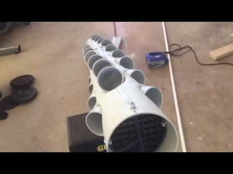 How to build a hydroponic solar powered vertical rotating tower