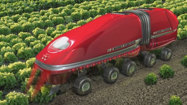 Future Latest Intelligent Technology World Amazing Modern Agriculture Heavy Equipment Mega Machines
