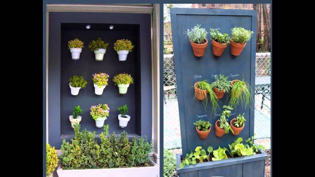 Home vertical herb garden ideas
