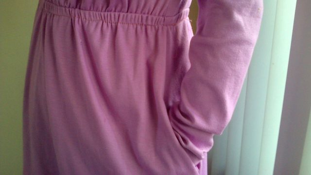 How To Make Pocket on Side  of Dress