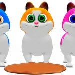 Three Little Kittens   Baby Songs   Nursery Rhymes Songs Compilation   Kindergarten Kid Songs