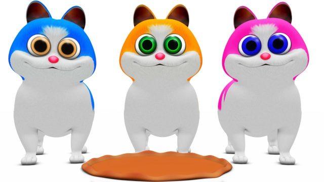Three Little Kittens | Baby Songs | Nursery Rhymes Songs Compilation | Kindergarten Kid Songs