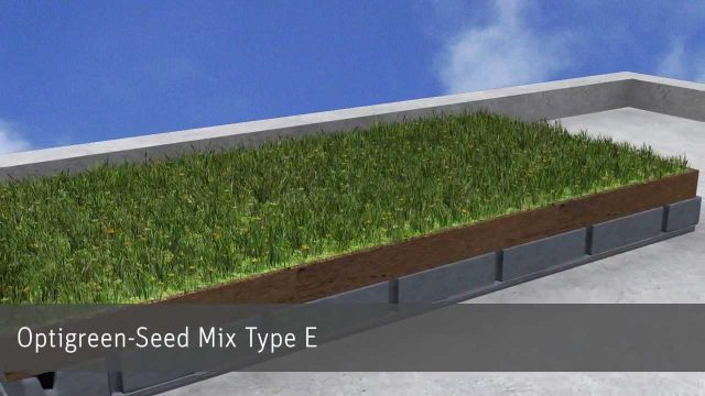 Optigreen Roof Greening & Rainwater Retention