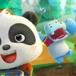 Kids Learn Gardening with Baby Panda's Flower Garden – Baby Bus Games For Children and Babies