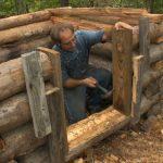 Building a Small Log Chicken House – The Farm Hand's Companion Show, ep 10