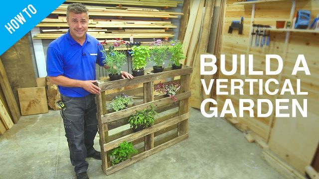 How to build a DIY vertical wall garden