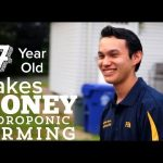 17 Year Old Saving His Family Money and Running a Business with Hydroponic Gardening