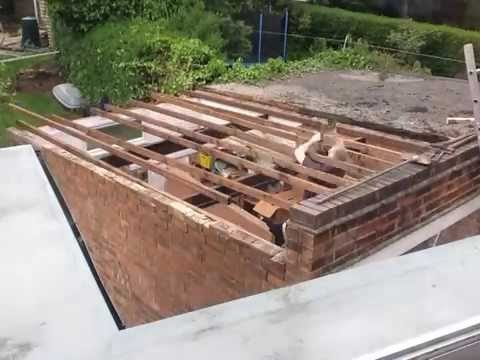 New garage roof