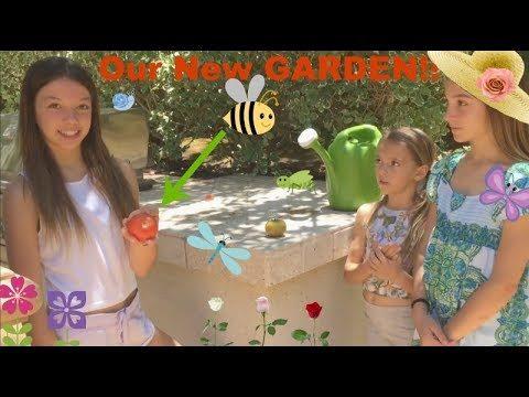 How To Start A Garden! Quinn Sisters. Kids Gardening.🍍