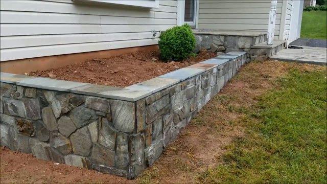 Stone Planter Wall Contractor in Herndon, VA