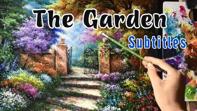 Learn English through story The Garden (Pre-intermediate Level) – Best English Story with Subtitles
