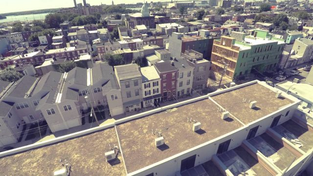 Awesometown Green Roof Install