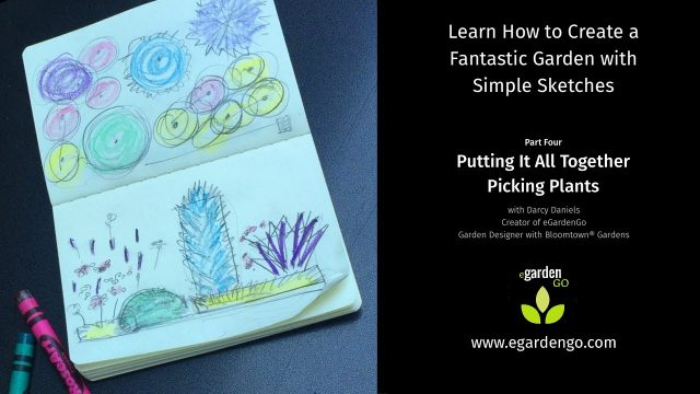 Learn How to Create a Fantastic Garden with Simple Sketches – Part Four