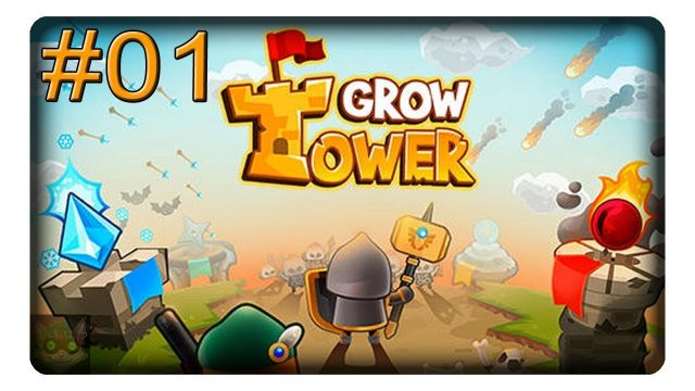 Ein weiteres Grow Spiel #01 || Let's Play Grow Tower | Deutsch | German