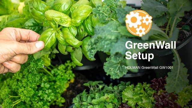 How to Set Up a Holman GreenWall Vertical Planting Kit
