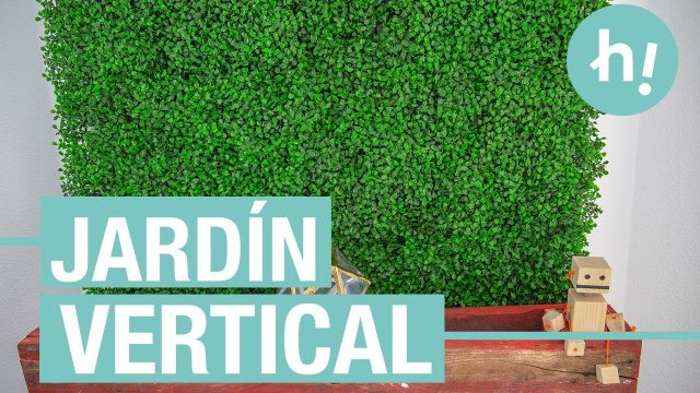 Jardín vertical artifical para la pared · Handfie DIY