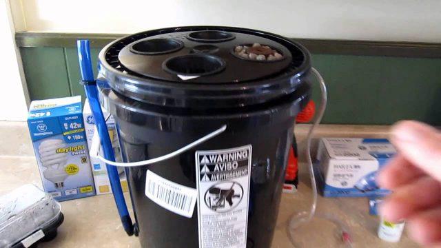 Hydroponic DWC Bucket Kit (Deep Water Culture) Unboxing