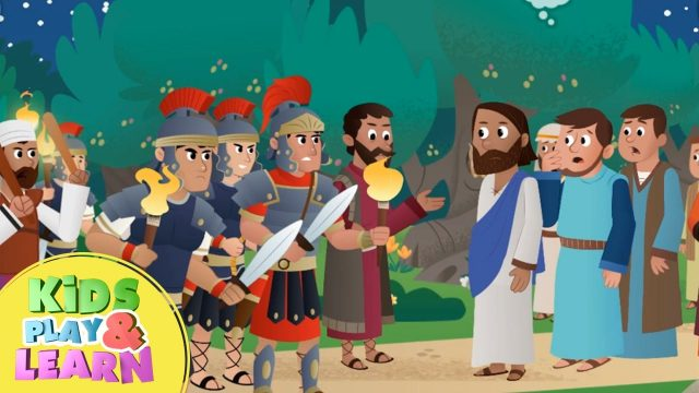Jesus Is Arrested In The Garden –  Beginners Bible Story For Kids
