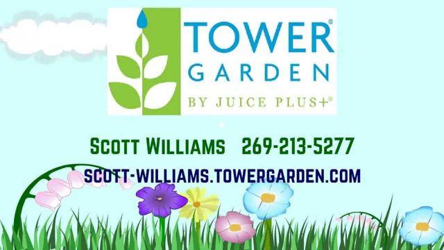 Juice Plus Tower Garden