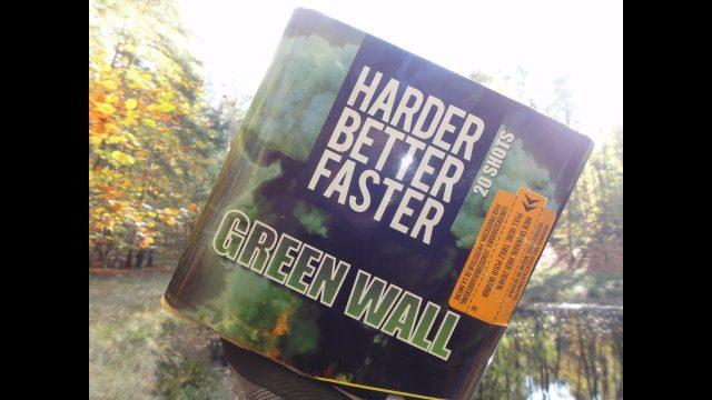 DAYLIGHT VUURWERK Green Wall from Zena TheOftler