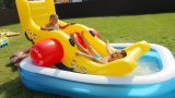 Water Park in the Garden Outdoor Amusement Playground for Kids Pool Toys Family Fun