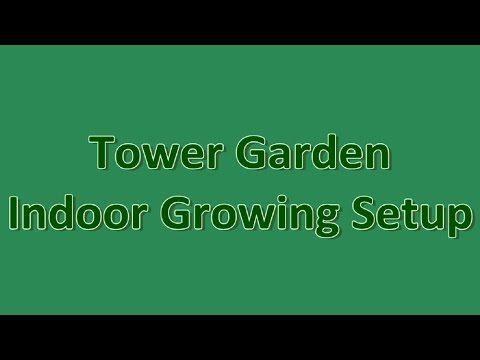 Tower Garden Indoor Growing