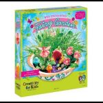 Creativity for Kids Enchanted Fairy Garden Craft Kit – Fairy Crafts for Kids