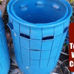 DIY Self-Watering Container using a 55 gal Barrel! Garden Tower Style!