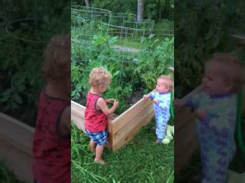 Kids In The Garden