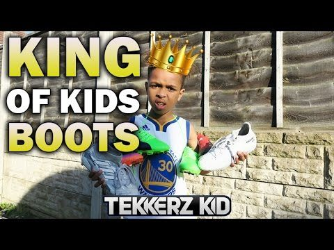 KING OF KIDS BOOTS!! TEKKERZ KID FOOTBALL BOOT UNBOXING COLLECTION!!