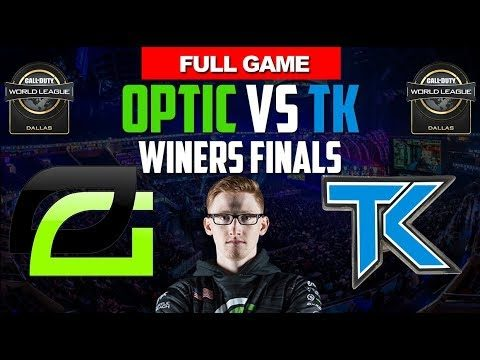 OpTic Gaming Vs TK – CWL DALLAS 2017 – Winners Finals  FULL GAME