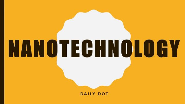 Meaning Of Nanotechnology | Blow your mind | Definition | Smallest particle | Technology