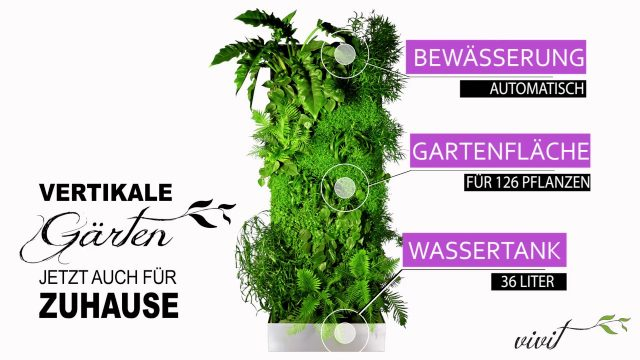 "Vivit Set – Vertikal Garten Systen  ""i'ts like a jungle"""