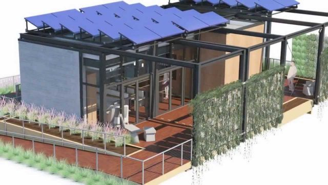 UNC Charlotte's UrbanEden: Vertical Gardens