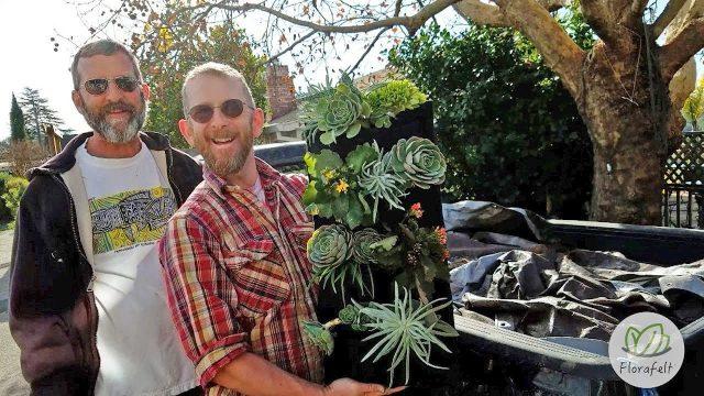 Easy Succulent Vertical Garden