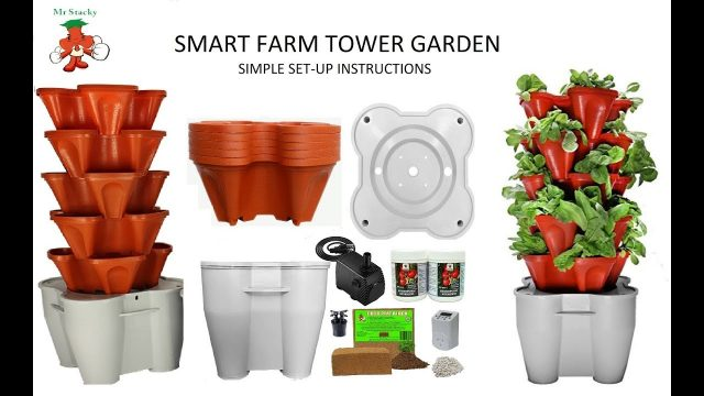 How to set-up Smart Farm Hydroponic Tower Garden