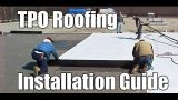 """""""How to Install TPO Roofing"""" by RoofRepair101"""