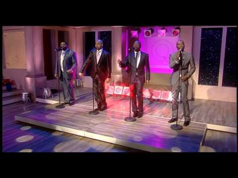 The Drifters perform 'Up on the Roof' live on QVC