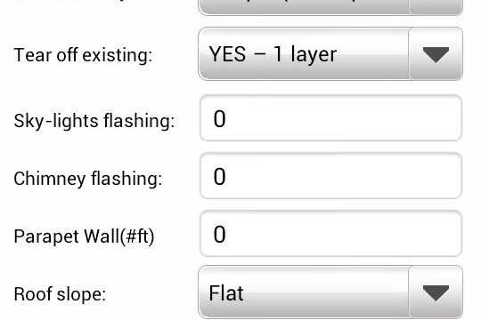 CoolFlatRoof.com free Roofing Calculator – iPnone + Android