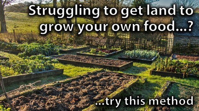 An Idea to Help you Find Land for Vegetable Gardening
