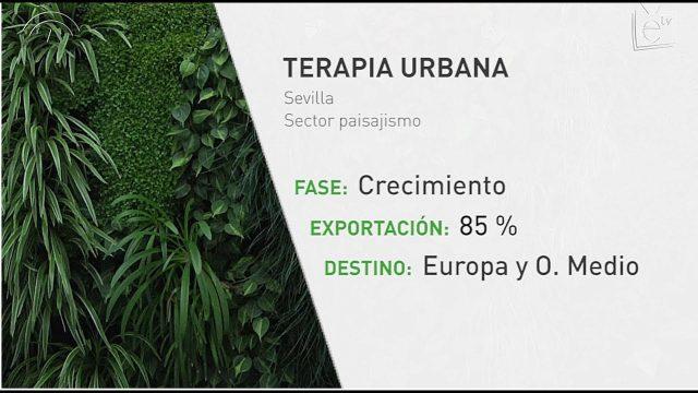 Terapia Urbana, empresa especializada en diseño de jardines verticales por toda Europa