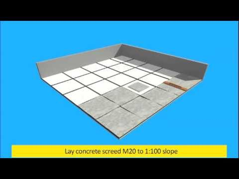 Roof Garden Dr.Fixit LEC system