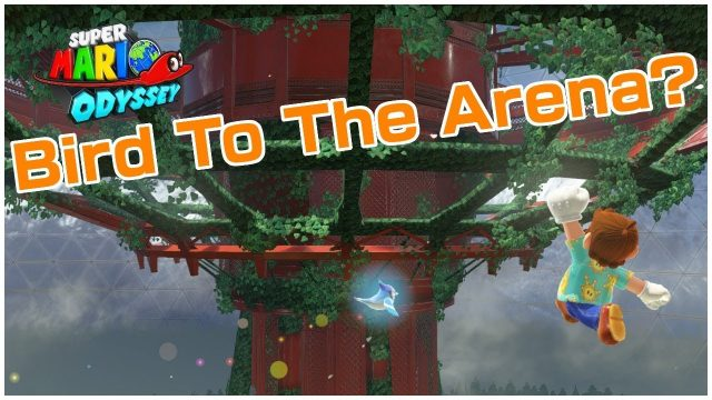 Using The Bird Moon To Get To The Sky Garden Tower? (Super Mario Odyssey Challenge #36)