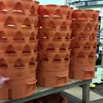 Oh yes, they rotate!  First production Garden Tower 2's, 100% made in the USA