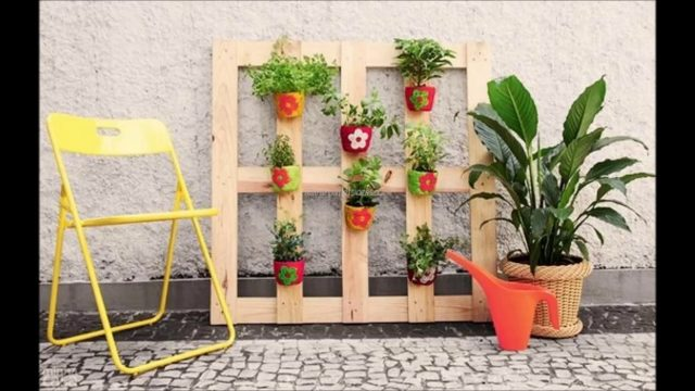 25 SIMPLE DIY PALLET DESIGN IDEAS FOR GARDEN – NICE & EASY