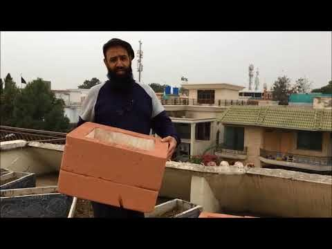 Very very Light Pots Roof top Gardening Dr Ashraf Sahibzada